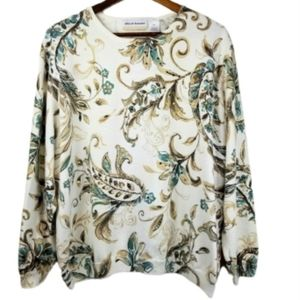 Alfred Dunner plus size 3x crew neck blouse